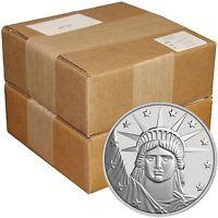 SilverTowne Lady Liberty 1 oz .999 Fine Silver Round - QTY of 1,000