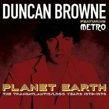 DUNCAN FEAT. METRO BROWNE - PLANET EARTH  2 CD NEU