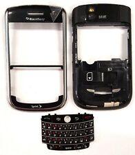 Blackberry Tour 9630 Sprint Medio Delante Carcasa Key Almohadilla Negro