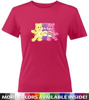 Care Bears Cheer Funshine Best Friend Bear Girls Juniors Women Tee T-Shirt S~2X