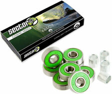 Sector 9 Cosmic ABEC7 (8 PACK)Longboard Skateboard Pro Bearings with free Spacer