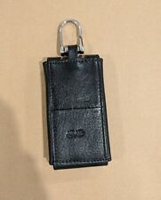 Leather Key Chain Accessory Pouch Bag Wallet Case Keyring Holder Keyfob