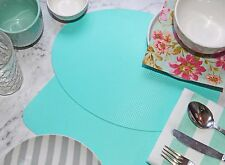 Free Postage. Tiffany Blue Eco Placemat, 2pcs. 2 options. Wipe Clean,Waterproof.