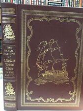 Easton Press: Captain James Cook: Sea Exploration: Tahiti: Australia: Hawaii