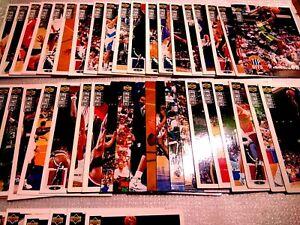 upper deck 1994 -1995 collector's choice NBA / france / lot 48 cartes