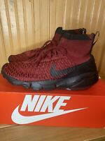 Nike Men's Air Flyknit Footscape Magista Red/Black  830600-600 $200 soccer