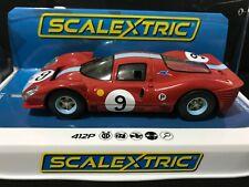 C3946 SCALEXTRIC 412P BRANDS HATCH 1967 #9   1:32 SCALE SLOT CAR