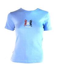 Airwalk Mariposa para Mujer Camiseta top (azul) - M