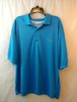 Columbia PFG Omi Shade Men's Perfect Cast Vented Fishing Polo.Vivid Blue. Sz XXL