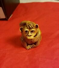Rare Limited Edition Harmony Kingdom Fragile World Worried Monkey 1 of 250