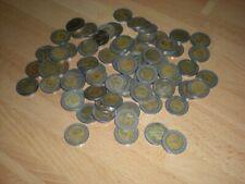 75 X 10 Baht Münzen Thailand aus Umlauf gebraucht Zahlungsmittel