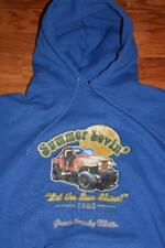 Vintage 80s Great Smoky Mountains Adult Hoodie 1983 Jeep Summer Lovin' Size 2X