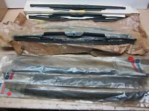 "NOS MOPAR BOX LOT WIPER BLADES 18"" CHRYSLER DODGE PLYMOUTH JEEP 1990 1991 1992"