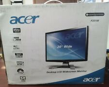 "Acer 20"" Desktop LCD Widescreen Monitor P201W      V"