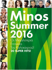 MINOS Summer 2016/20 SUPER GRECIA Hits Original Nuevo CD