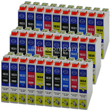 30 XXL DRUCKER PATRONEN für Epson WF2510WF WF2630WF WF2650DWF WF2660DWF-DD-TINTE