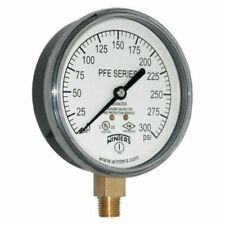 """WINTERS PFE3935R1 Pressure Gauge 300 psi- 3 1/2"""" Fire Protection (ashcoft)"""