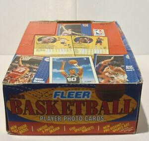 1991-92 Fleer NBA Basketball Series 1 Box - Brand New - Not Sealed
