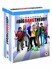 The Big Bang Theory Season 1 - 9 Complete Series Collection Blu-ray Boxset New