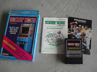 Vintage 1982 Coleco Intellivision Donkey Kong Video Game in Box