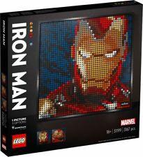 LEGO ART Marvel Studios 31199 Iron Man MOSAIK Kunstbild 3167pcs  N10/20