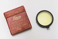 Leica Gelb-Filter – FIGRO – Ernst Leitz GmbH Germany