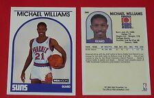 # 344 MICHAEL WILLIAMS PHOENIX SUNS 1989 NBA HOOPS BASKETBALL CARD