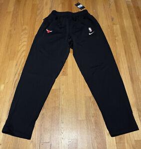 Nike NBA Chicago Bulls Player Issue Travel Pant Sz M-Tall AV1680-010