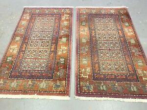 antiques-swiss****** 2 Beautiful Basilik SWISS made rugs 3`x 5`2 ft