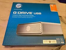 "G-Technology G-DRIVE 4TB 3.5"" USB 3.0 External Desktop Hard Drive"