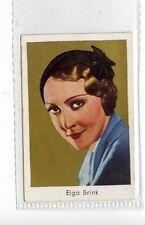 (Jd3745) SALEM,FILM STARS,ELGA BRINK,1930,#160