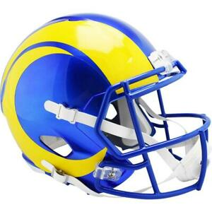 LA RAMS Riddell Speed NFL Full Size Replica Football Helmet