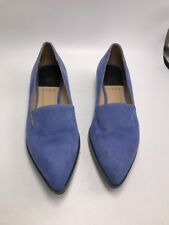 Paul Smith   suede  flat Shoes Blue  Size  EU 37