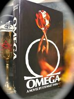 OMEGA: A NOVEL BY STEWART FARRAR ~ 1ST US 1980 HC w/ D/J ~ OCCULT WICCAN MAGICK