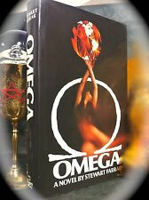 OMEGA: A NOVEL BY STEWART FARRAR ~ 1ST US 1980 HC w/ D/J ~ OCCULT WICCAN MAGICK