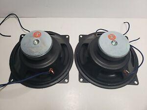 """Pair (2) Polydax (Audax) vintage 8"""" Speakers - Working"""