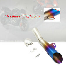 1set Motorcycle 51MM Stainless Steel Muffler Pipe DB-Killer Exhaust Part 355MM