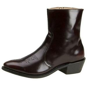 Leather Classics Mens Brown Cowboy, Western Boots 12 Extra Wide (E+, WW) 0042