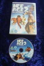 DVD.ICE AGE 2 MELTDOWN CLASSIC ANIMATED.KIDS.SCRAT.SID.UK REGION 2 SLOTH.DVD