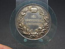 Silbermedaille Staatspreis für Geflügelzucht 1887 Königreich Preußen (11516)