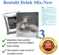 3 Packs BENTOLIT Weight Control Dry Drink Mix. ORIGINAL FAST SHIP From RUSSIA