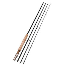 5/6 2.7M/9FT 4 Sections Carbon Fly Fishing Rod 115g/4oz Saltwater/Freshwater Rod