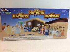 The NATIVITY Playset Bible Toys Jesus Mary Joseph Animals Figures