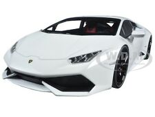 LAMBORGHINI HURACAN LP610-4 WHITE 1/18 DIECAST MODEL CAR BY KYOSHO 09511 W