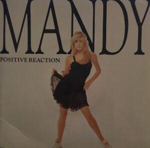 "MANDY  7"" single  Positive Reaction c/w A Man Das Mix"