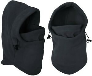 Winter Fleece Balaclava Warm Hooded Face Mask Neck Warmer