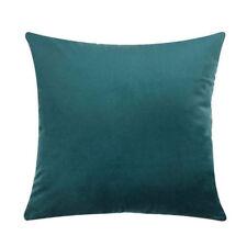 18'' Velvet Cushion Cover Throw Pillow Case Sofa Car Home Decor Zip Up Fashion K