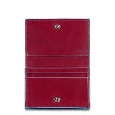 Piquadro Porte cartes de visite Rouge