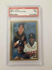 1998 Topps Ortiz/Sexson/Ward RC #257 PSA Graded 7 NM