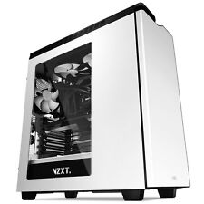 NZXT H440 Mid Tower Case Windowed With Noise Insulation for PC - White
